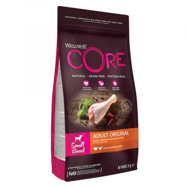 Wellness Core Adult Small Breed Γαλοπούλα