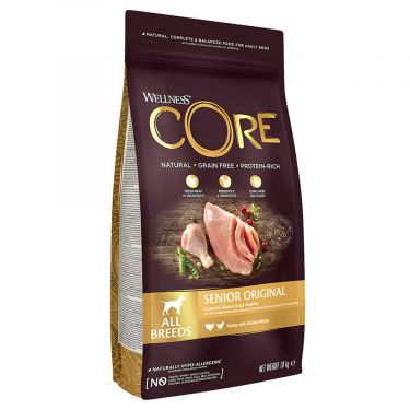 Wellness Core Senior Γαλοπούλα & Κοτόπουλο
