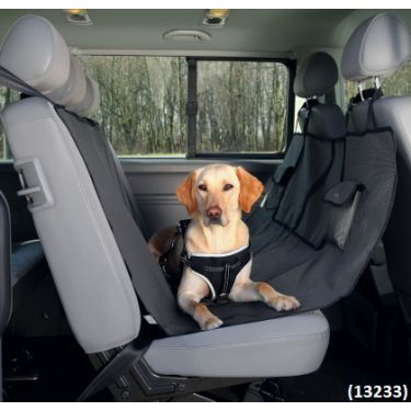 Trixie Car Seat Cover Black-Brown