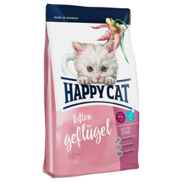 Happy Cat Kitten Geflugel Πουλερικά