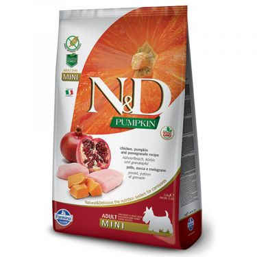 N&D Grain Free Pumpkin Chicken & Pomegranate Adult Mini