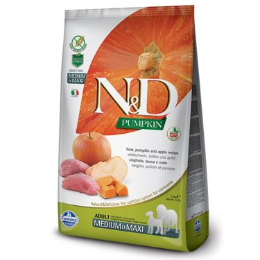 N&D Grain Free Pumpkin Boar & Apple Adult Medium/Maxi