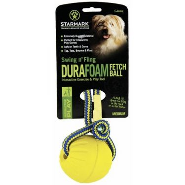 Starmark Swing 'n Fling DuraFoam Fetch Ball