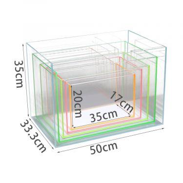 Nobleza Ενυδρείο Super White Glass