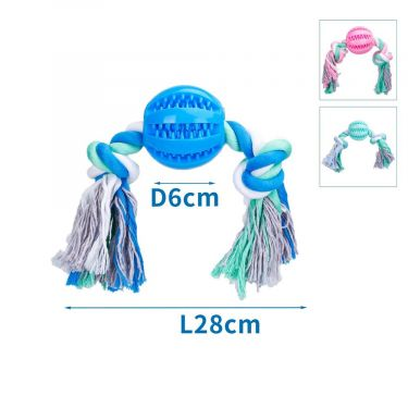 Nobleza Cotton Rope with TPR Latex Ball