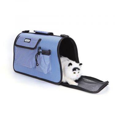 Nobleza Τσάντα Μεταφοράς με λωρίδες για Σκύλο & Γάτα