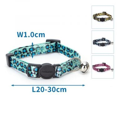 Nobleza Cat Collar with Leopard Print