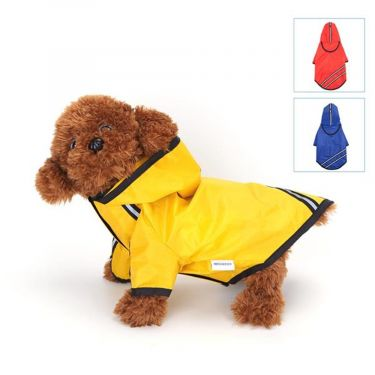 Nobleza Dog Αδιάβροχο με κουκούλα