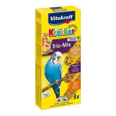 Vitakraft Kracker Trio-Mix για Παπαγαλάκια 3 ΤΜΧ
