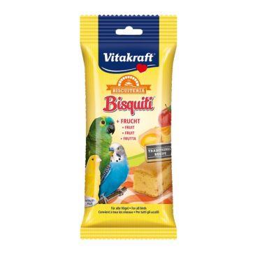 Vitakraft Bisquiti Με Φρούτα Onesize για Παπαγαλάκια