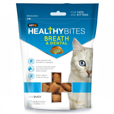 Vetiq Healthy Bites Breath & Dental 65g