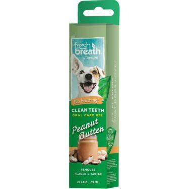 Tropiclean Clean Teeth Gel Peanut Butter