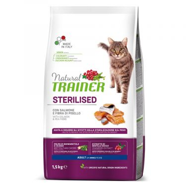 Natural Trainer Adult Sterilized Salmon
