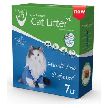 Van Cat Box Marseille Soap Clumping