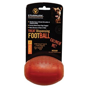 Starmark Treat Dispensing Football