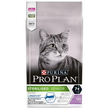Pro Plan Cat Adult 7+ Sterilised με Γαλοπούλα