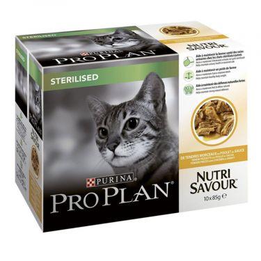 Proplan Nutri Savour Sterilised Multipack 10 x 85gr