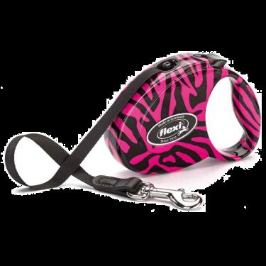 Flexi Fashion Zebra με Ιμάντα