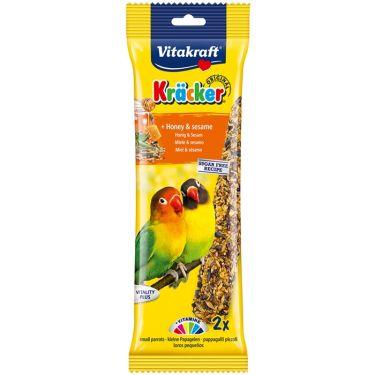 Vitakraft Kracker για Love Birds με μέλι & σουσάμι