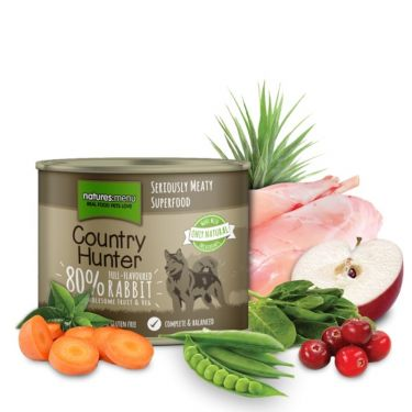 Natures Menu Country Hunter Rabbit With Cranberry