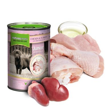 Natures Menu Junior Chicken & Turkey