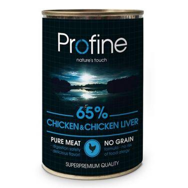 Profine Kονσέρβα Σκύλου Chicken & Chicken Liver