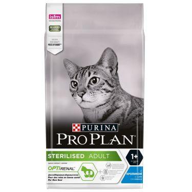 Pro Plan Cat Adult Sterilised Optirenal με Κουνέλι