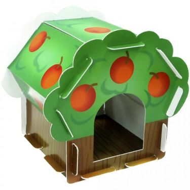 Cardboard Chew Apple Tree