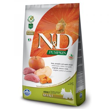 N&D Grain Free Pumpkin Boar & Apple Adult Mini