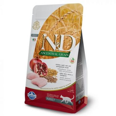 N&D Ancestral Low Grain Chicken & Pomegranate Adult Cat