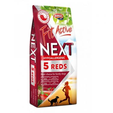 FitActive Next Hyppoallergenic 5 Reds