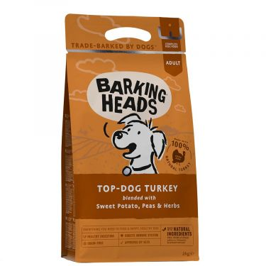 Barking Heads ''Top Dog Turkey Grain-Free''