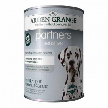 Arden Grange Sensitive Κονσέρβα Σκύλου με Ψάρι και Πατάτα