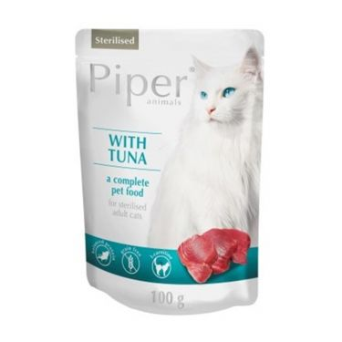 Piper Cat Adult Sterilised Φακελάκι 100gr