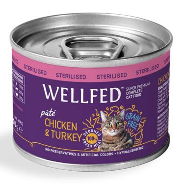 Wellfed Adult Sterilised Chicken & Turkey