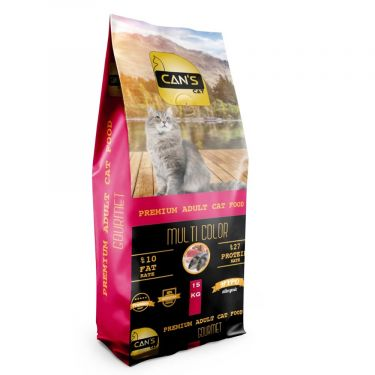 Can's Cat Adult Multi Color Gourmet