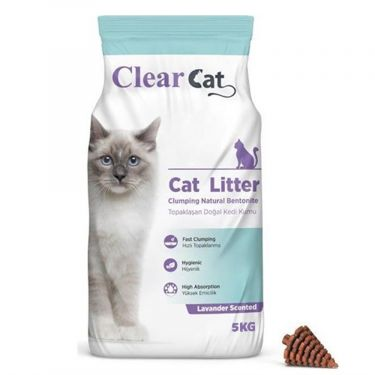 Clear Cat Levander Clumping