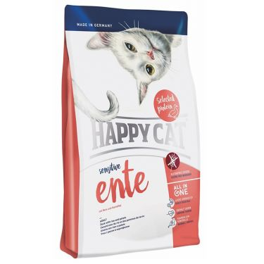 Happy Cat Sensitive-Grain & Gluten Free Εnte Πάπια