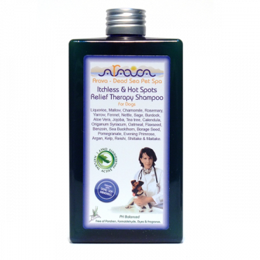 Arava Itchless & Hot Spots Relief Therapy Shampoo