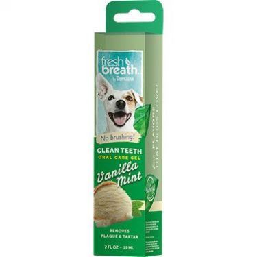 Tropiclean Clean Teeth Gel Vanilla Mint