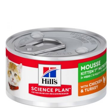 Hill's Science Plan Kitten 1st Noutrition Mousse Chicken