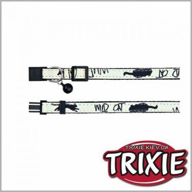 Trixie Glow in the Dark Περιλαίμιο με Κουδουνάκι 41866