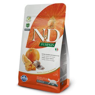 N&D Pumpkin Grain Free Herring & Orange Adult Cat