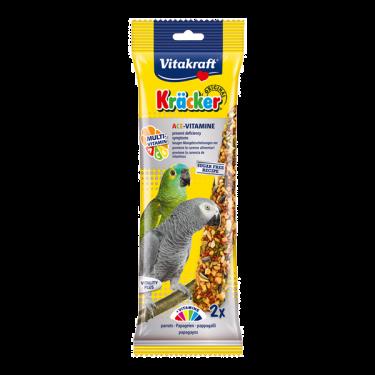 Vitakraft Kracker Duo Ace Vitamine για Μεγάλους Παπαγάλους Onesize