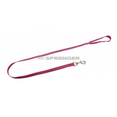 Sprenger Nylon Leash Pink Rubberised with Handle