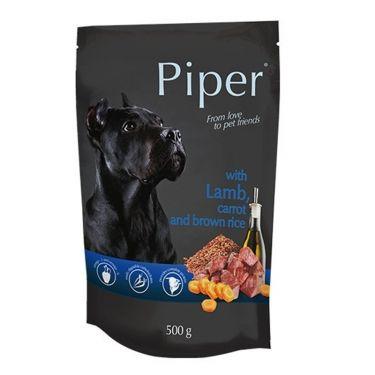 Piper Φακελάκι Σκύλου Αρνί, Καρότο & Καστανό Ρύζι