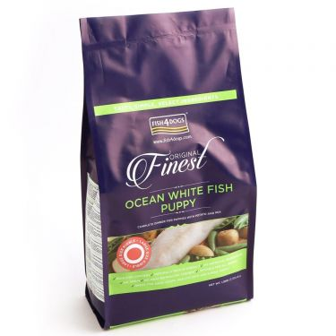 Fish4Dogs Ocean White Fish Puppy Large Kibble