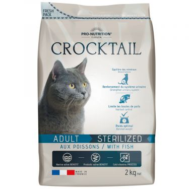 Flatazor Crocktail Cat Adult Sterilised Ψάρι
