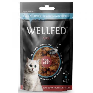 Wellfed Cat Freeze Dried με Πάπια