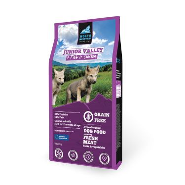 Wolf's Mountain Dog Junior Valley Grain Free